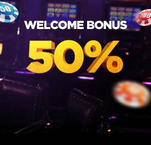 50% Welcome Bonus