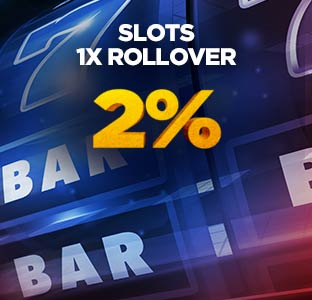 2% Unlimited Slots Bonus