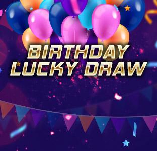 Birthday Lucky Draw