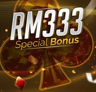 Deposit RM300 FREE RM33