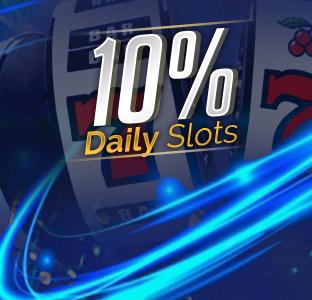 10% Daily Slots Bonus