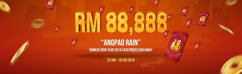 Angpao Rain